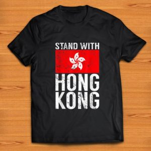 Awesome Stand With Hong Kong Flag shirt