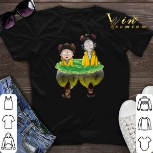 Breaking Bad Rick And Morty Walter Jesse shirt sweater