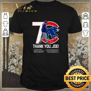 Funny 7 Chicago Cubs thank you Joe Maddon Rumors shirt sweater