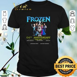 Funny Frozen 06th anniversary 2013-2019 shirt sweater
