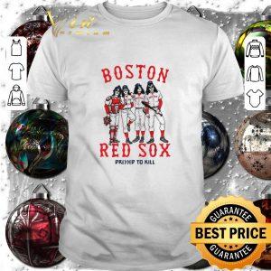 Funny Kiss Boston Red Sox dressed to kill shirt