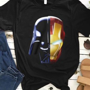 Funny Star Wars Darth Vader Iron Man Avengers Endgame shirt