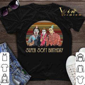 Horror Movie Characters Super Soft Birthday shirt sweater