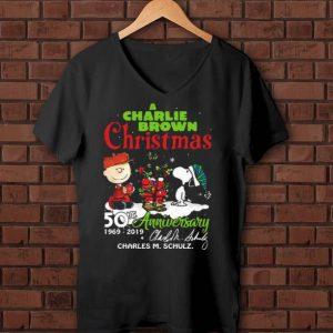 Hot A Charlie Brown Christmas 50th Anniversary 1969-2019 Signature shirt