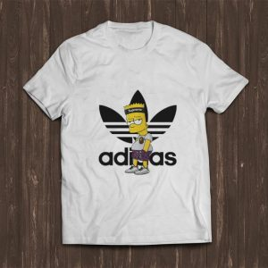 Hot Adidas Bart Simpson shirt