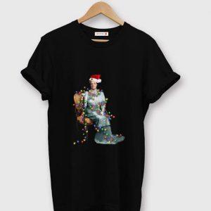 Hot Christmas Light Santa Violet Crawley shirt