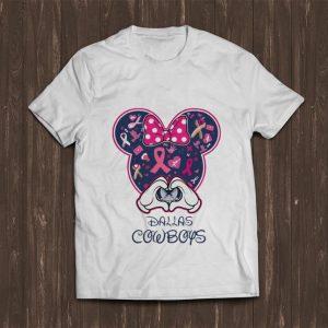 Hot Dallas Cowboys Breast cancer Mickey shirt