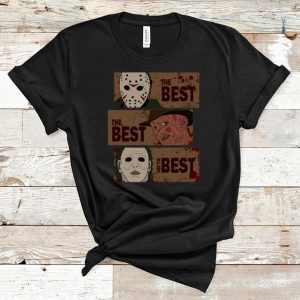 Hot Horror Characters The Best The Best And The Best shirt