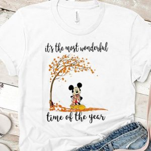 Hot It's The Most Wonderful Time Of The Year Mickey mouse shirt