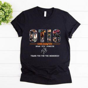 Hot Otis Chicago Fire Brian Otis Zvonecek Thank You For The Memories Signature shirt