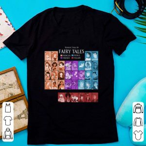 Hot Princess Prince And Villain Periodic Table Of Fairy Tales shirt