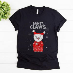 Hot Santa Claws Cat Lover Ugly Christmas shirt