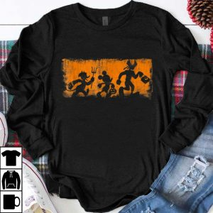 Nice Disney Mickey and Friends Halloween shirt
