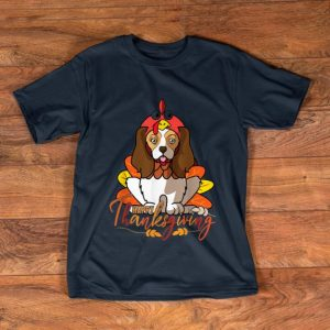 Nice Funny Cavalier King Spaniel Thanksgiving Dog Turkey Costume shirt