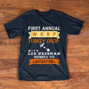 Nice Funny Wkrp Turkey Drop - Thanksgiving Gift shirt