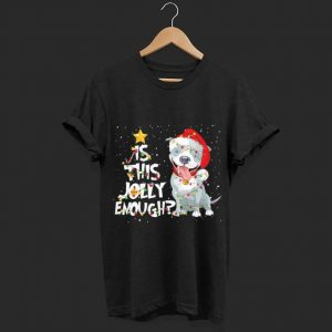 Nice Is This Jolly Enough Pitbull Christmas Dog Lovers shirt