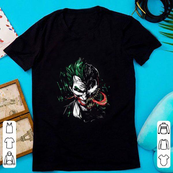 Nice Joker Mashup Venom ha ha ha shirt
