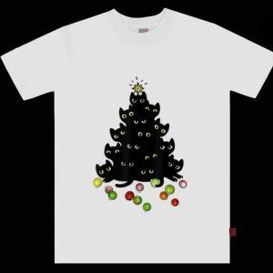 Nice Merry Catmas Cat Lovers Cat Christmas Tree shirt