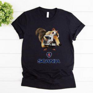 Nice Scania AB Ice Age Scrat Hug Truck shirt