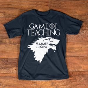 Nice Summer Is Coming Game Of Teaching shirt