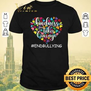 Nice Teacher Kindness Takes Courage Endbullying shirt sweater