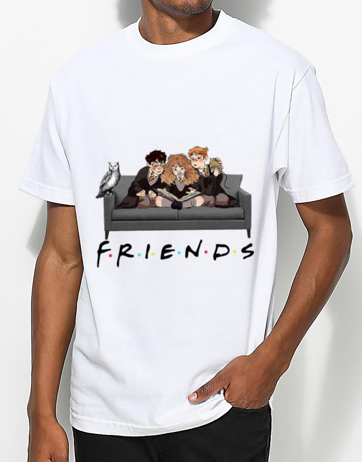 Official Friends TV Show Harry Potter Hermione And Ron Weasley shirt 4 - Official Friends TV Show Harry Potter Hermione And Ron Weasley shirt