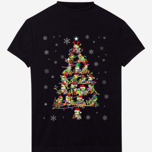 Official Frog Christmas Tree Merry Xmas shirt