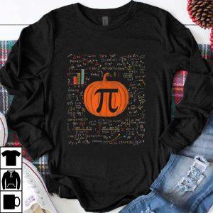 Official Funny Pumpkin Pi Halloween Costume Math Teacher shirt
