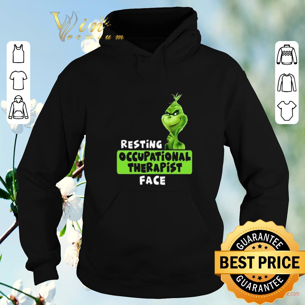 Official Grinch resting occupational therapist face shirt sweater 4 - Official Grinch resting occupational therapist face shirt sweater