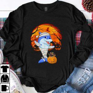 Official Halloween for Men Women Kids Dolphin Mummy Pumpkin shirt