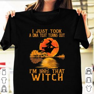Official I Just Took A Dna Test Turns Out I'm 100% That Witch shirt