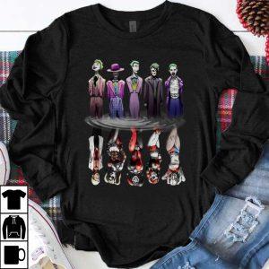 Official Joker And Harley Quinn Reflection Mirror Water shirt