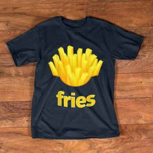 Original French Fries Humorous Halloween Costume Tee shirt