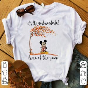 Original Mickey Mouse It's The Most Wonderful Time Of The Year Autumn shirt