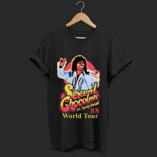 Original Mr Randy Watson World Tour 88 Sexual Chocolate shirt
