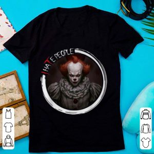Original Pennywise IT I Hate People Halloween shirt