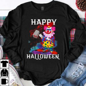 Original Psycho Killer Clown Happy Halloween Party Tee shirt