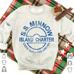 Original S.S.Minnow Island Charter Exotic Trips Free Lunches shirt