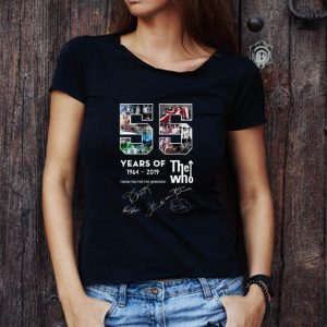 Original The Who 55 Years 1964 2019 Thank You For The Memories shirt