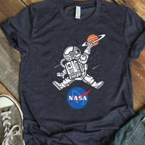 Premium Astronaut Basketball League Slam Dunk Nasa shirt