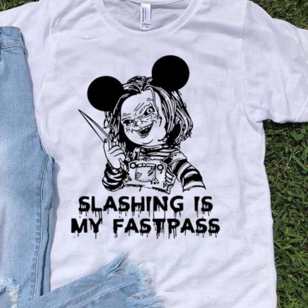 Premium Chucky Mickey Slashing is my fastpass shirt
