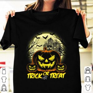 Premium Halloween Trick Or Treat Jack O Lantern Pumpkin shirt