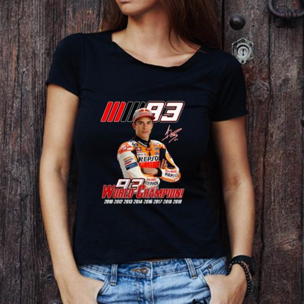 Premium MM93 World Champion Marc Marquez shirt