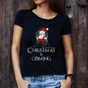 Premium Santa Claus Christmas Is Coming Game Of Thrones shirt