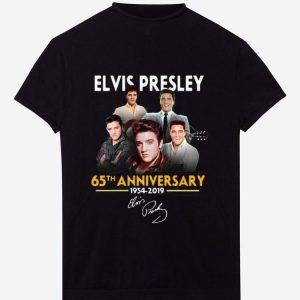 Pretty 65th anniversary Elvis Presley 1954 2019 signature shirt