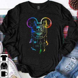 Pretty Always Mickey Mouse Harry Potter Hogwarts Dreamcatcher shirt