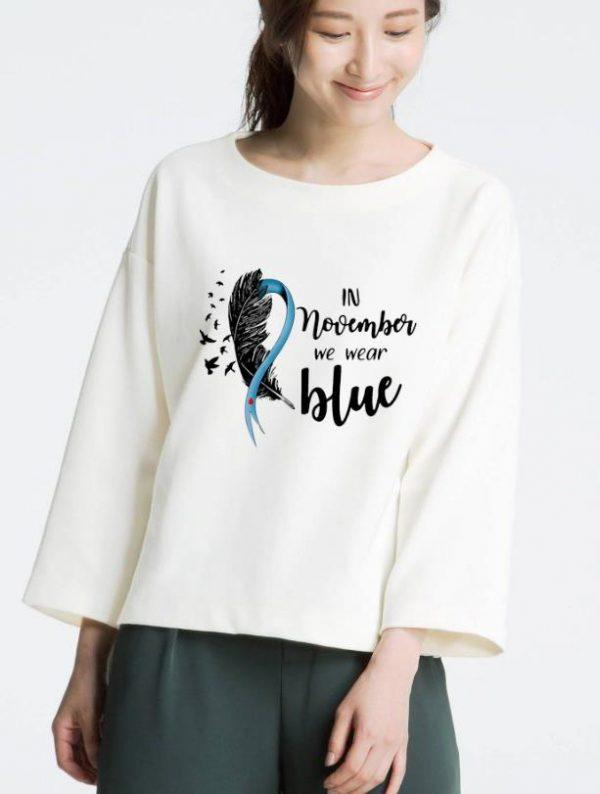 Pretty Diabetes Awareness In November We Wear Blue shirt