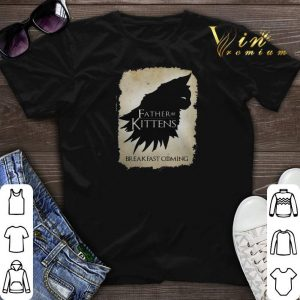 Pretty Father of kittens breakfast coming shirt sweater