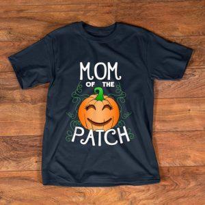 Pretty Halloween Pumpkin Mom of the Patch shirt
