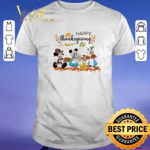 Pretty Happy Thanksgiving Disney Characters shirt